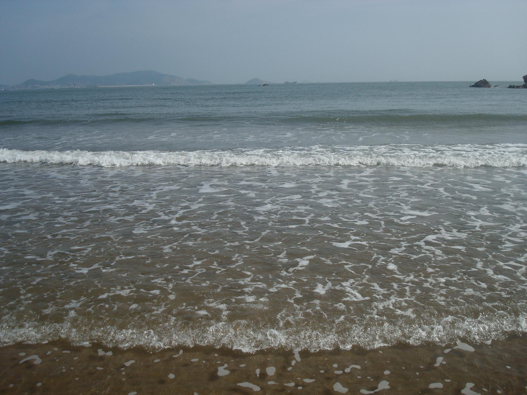 早安海边——清晨的沙滩